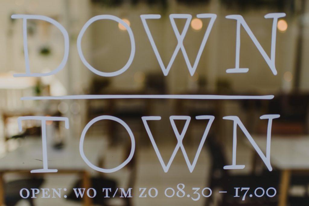 Down Town, koffiebar Nijmegen, lunch, ontbijt, brunch, verse sappen